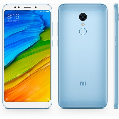 картинка Xiaomi Redmi 5 Plus 3/32GB Blue от магазина C-mobi