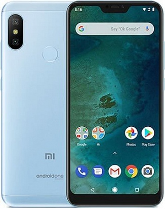 картинка Xiaomi Mi A2 Lite 3/32GB (Global Version) Blue от магазина C-mobi