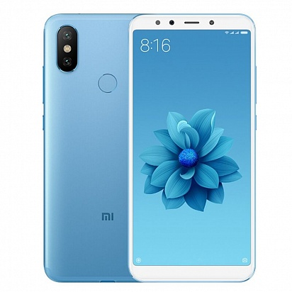 картинка Xiaomi Mi A2 4/32Gb (Global Version) Blue от магазина C-mobi