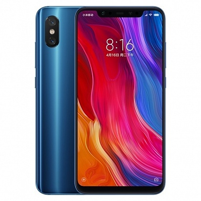 картинка Xiaomi Mi8 6/64GB (Global Version) Blue от магазина C-mobi